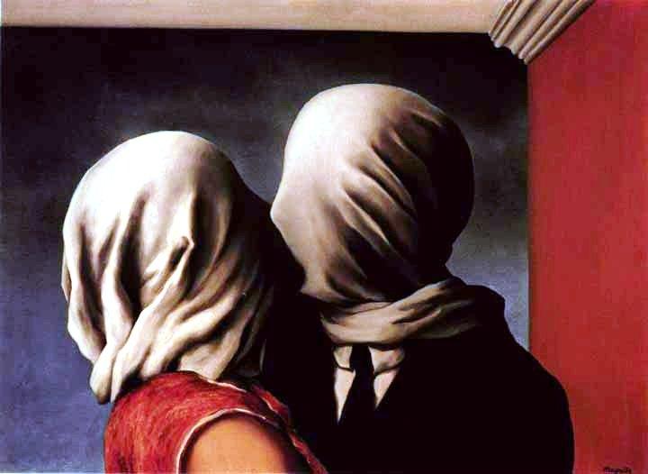 Magritte Gli amanti II