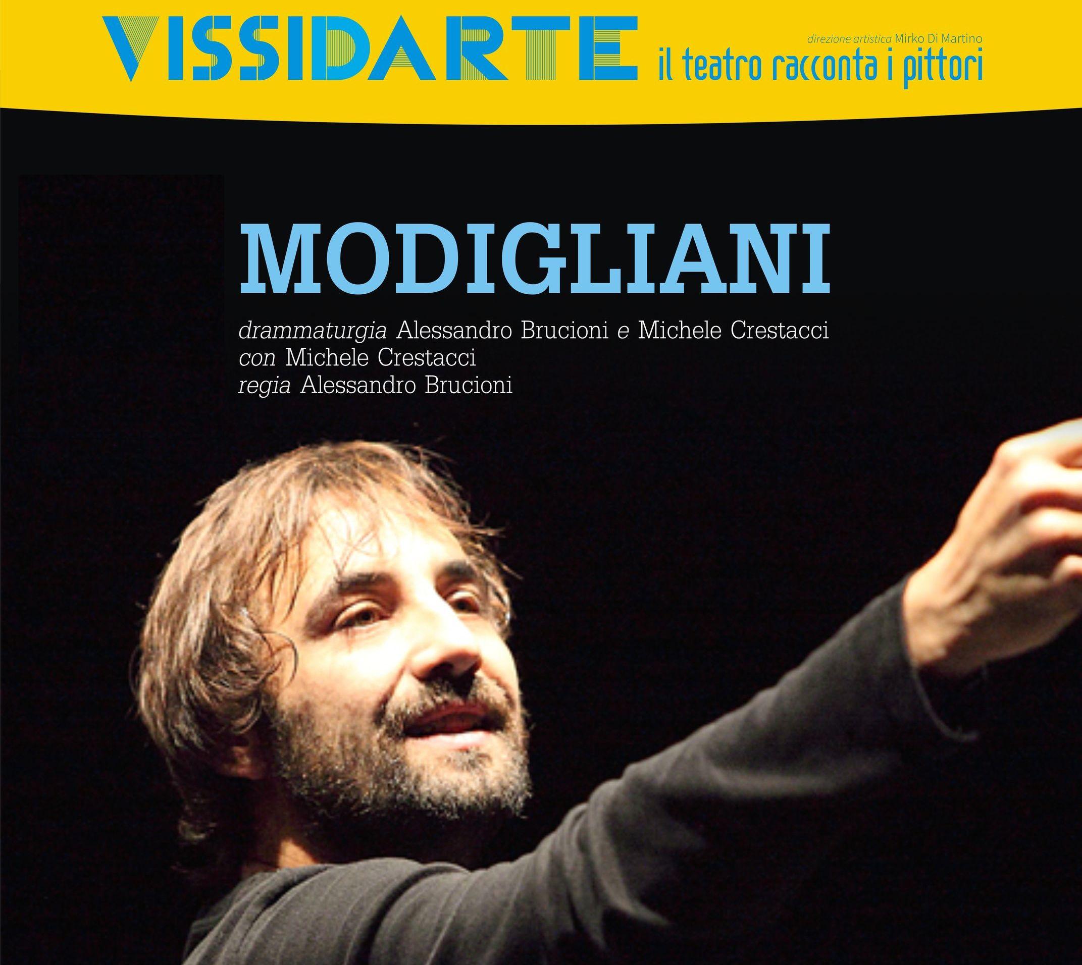 2015.09.03 - I tormenti di Amedeo Modigliani al Vissidarte festival