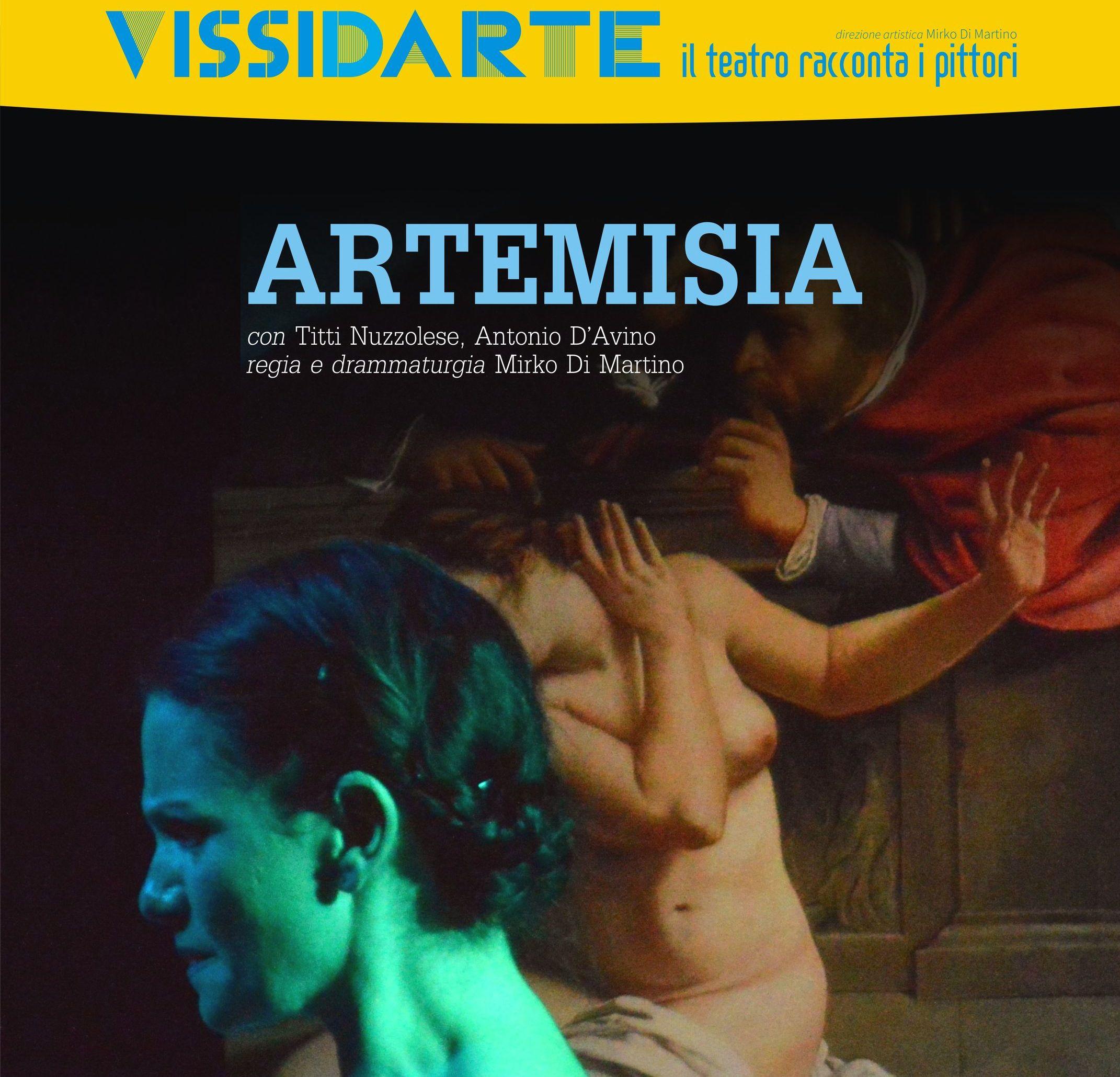 2015.09.17 - Una moderna donna del Seicento la vita di Artemisia Gentileschi a teatro