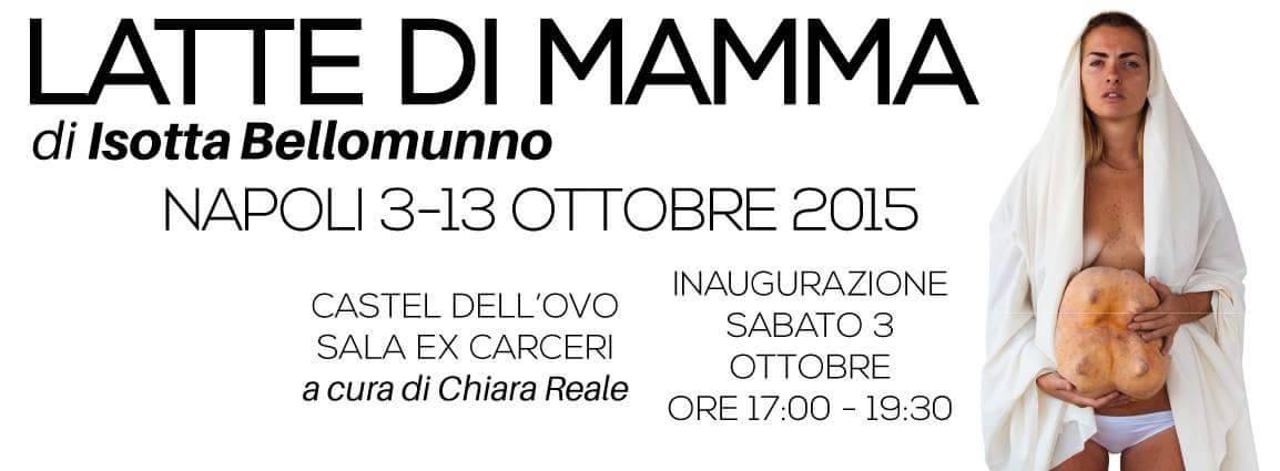 2015.10.08 - La donna come madre dea simbolo Isotta Bellomunno presenta Latte di Mamma