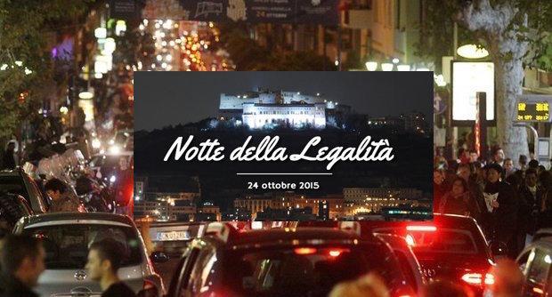 2015.10.31 - Notte Bianca della Legalita al Vomero flop o successo