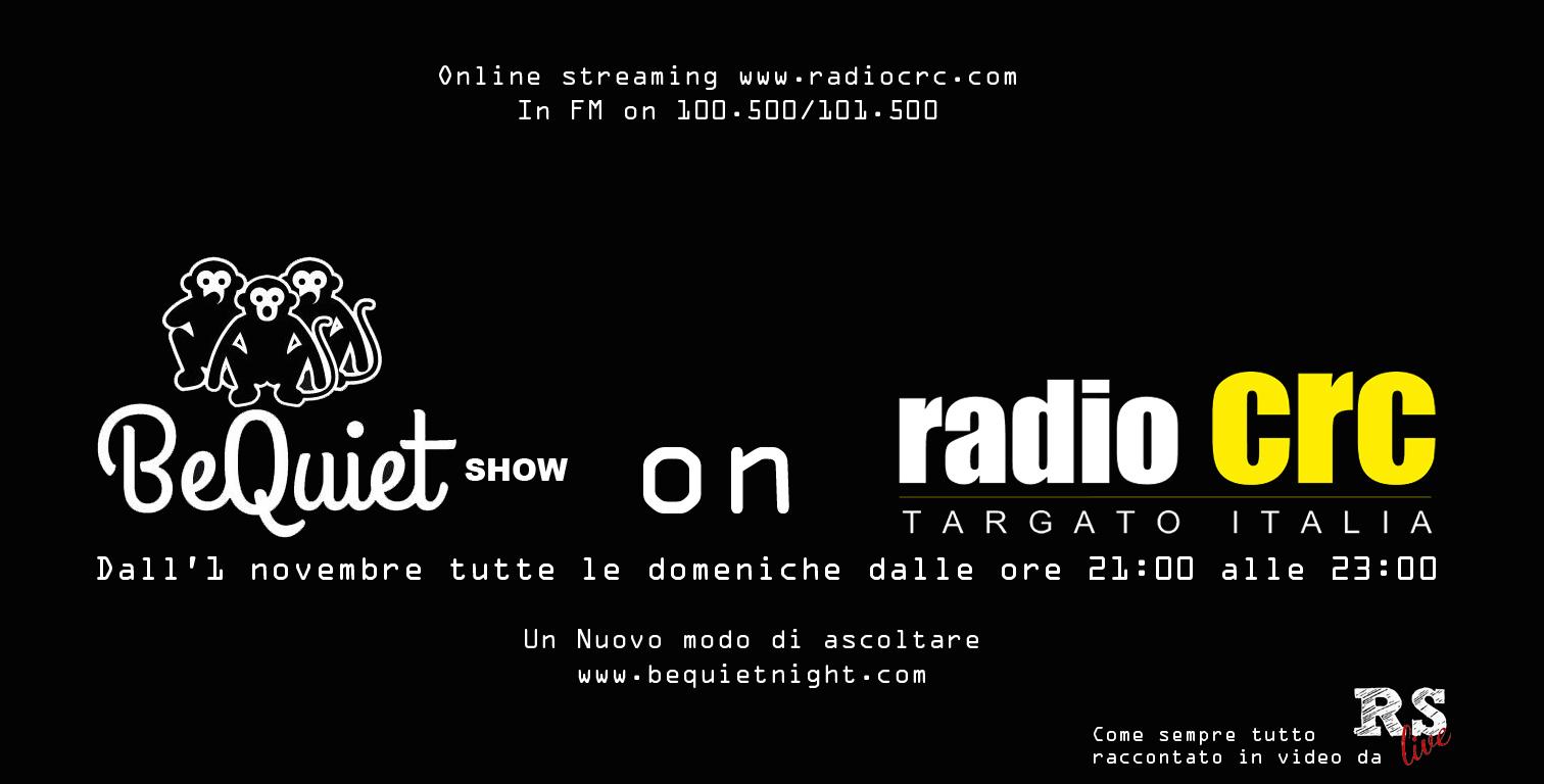 2015.11.04 - La Nuova Musica Napoletana approda in radio con il Be Quiet Show