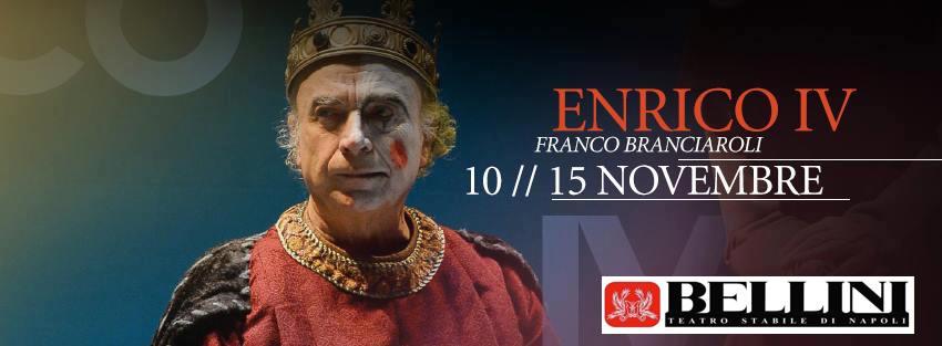 2015.11.12 - La dialettica della follia va in scena al Bellini con Enrico IV