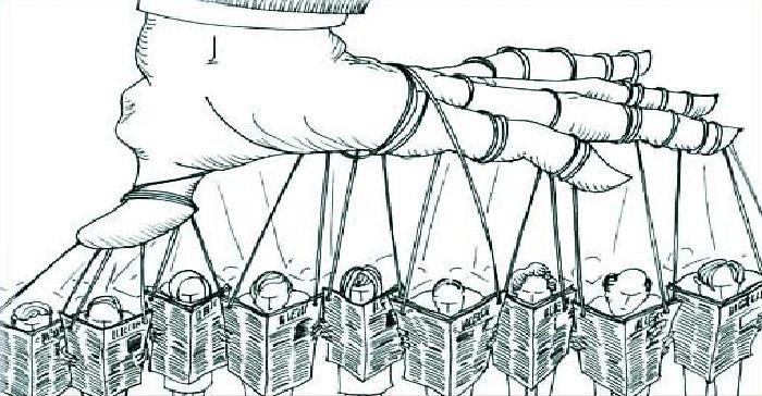 dittatura del pensiero unico