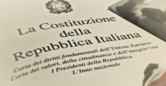 costituzione referendum