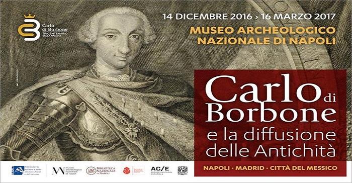 Borbone Napoli Mostra Madrid Messico