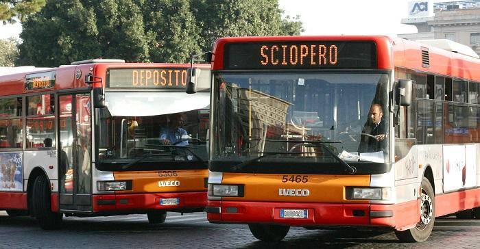 autobus sciopero