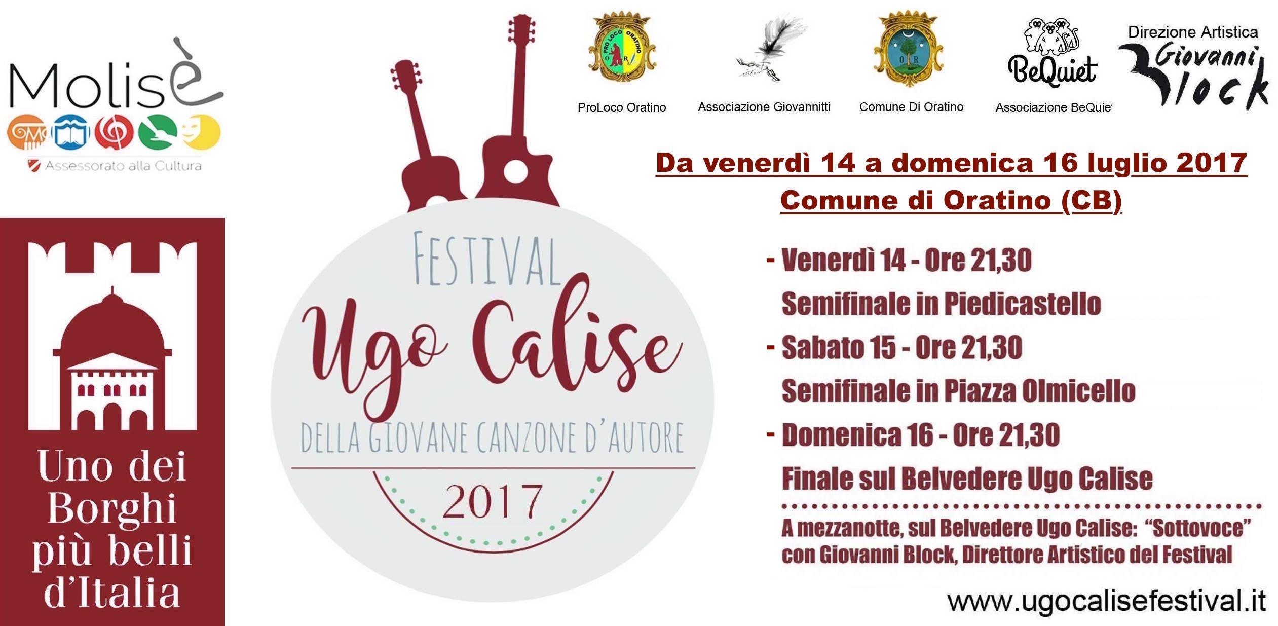 2017.07.13 Nellepoca dei contest la giovane musica cantautoriale si ritrova al Festival Ugo Calise