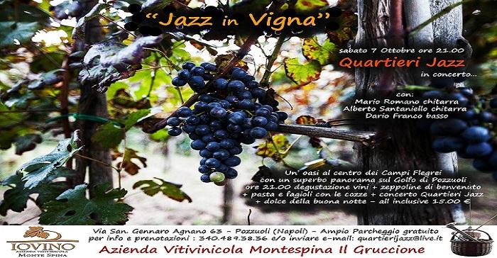 LA REDAZIONE Jazz in vigna
