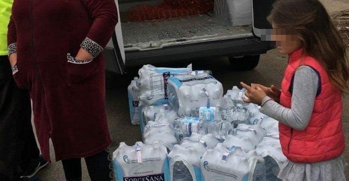 acqua sul campo rom