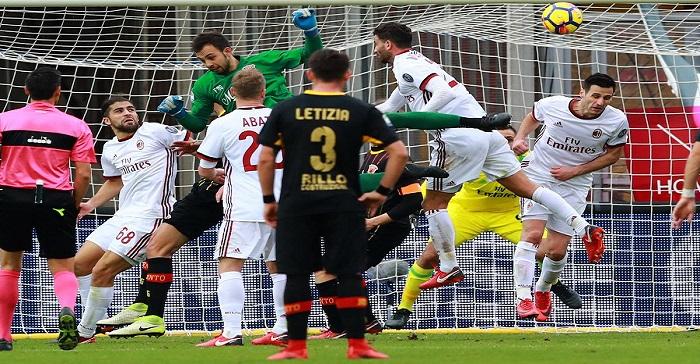 Benevento Milan Gol 2 2 gol Brignoli