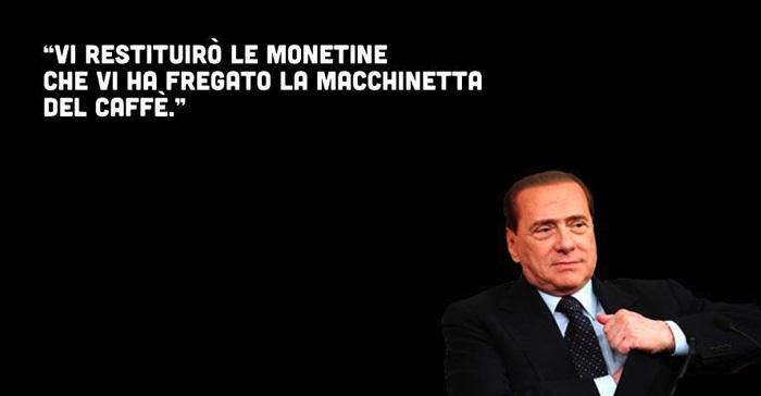 Berlusconi restituisce cose