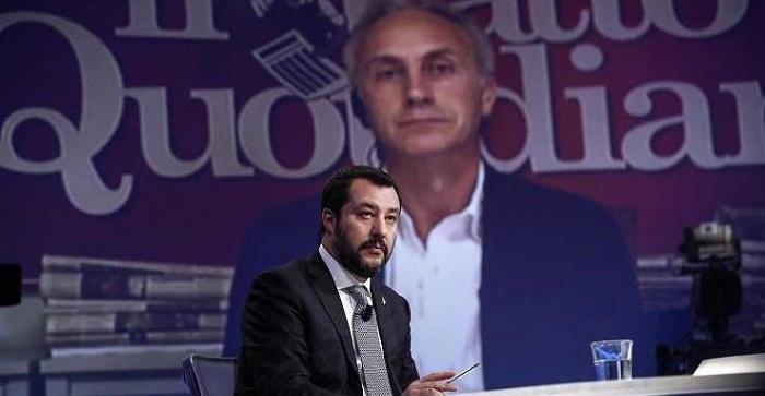 Marco Travaglio Salvini Berlusconi 738x450