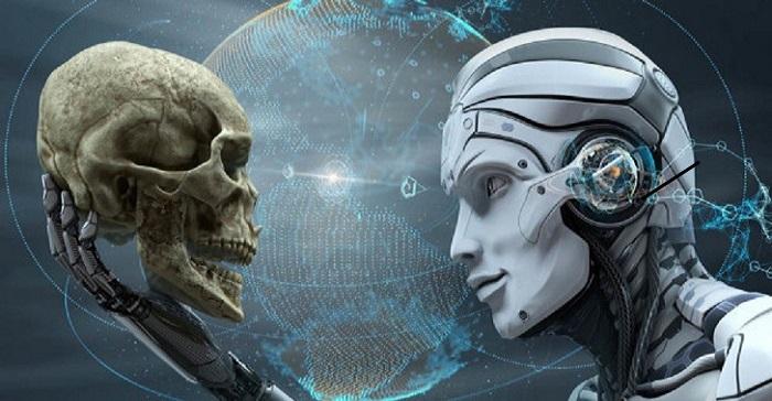 Intelligenza Artificiale ia estinzione uomo 1
