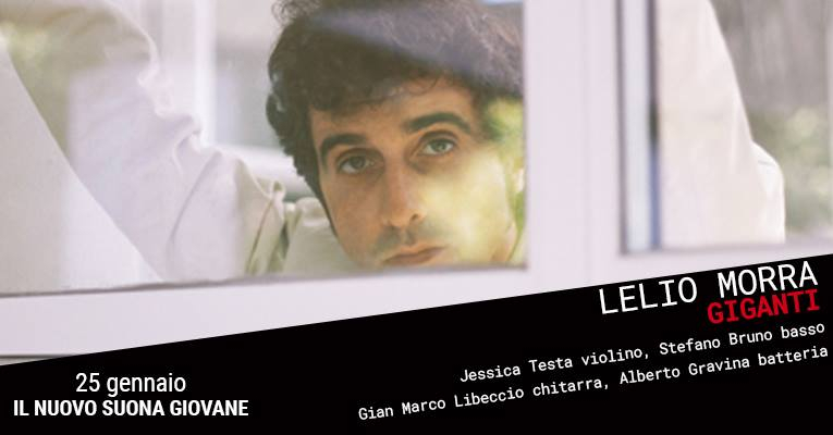2019.01.24 Lelio Morra riparte dai suoi Giganti in concerto al Teatro Nuovo