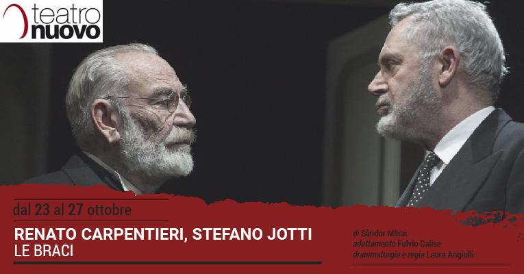2019.10.24 Torna a teatro Le braci di Sandor Marai con Renato Carpentieri protagonista 2