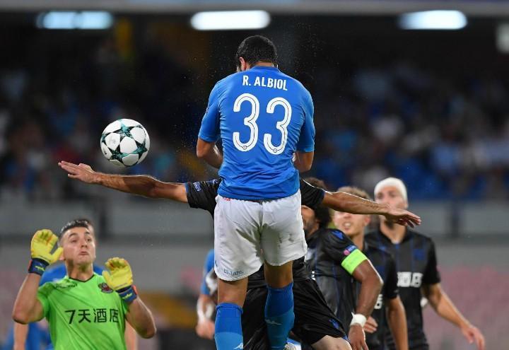 Albiol testa Napoli Nizza lapresse 2017