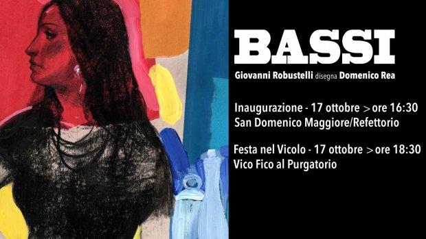BASSI. Giovanni Robustelli disegna Domenico Rea