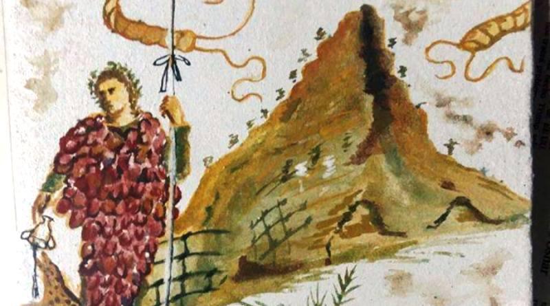 Bacco e il Vesuvio visitatore