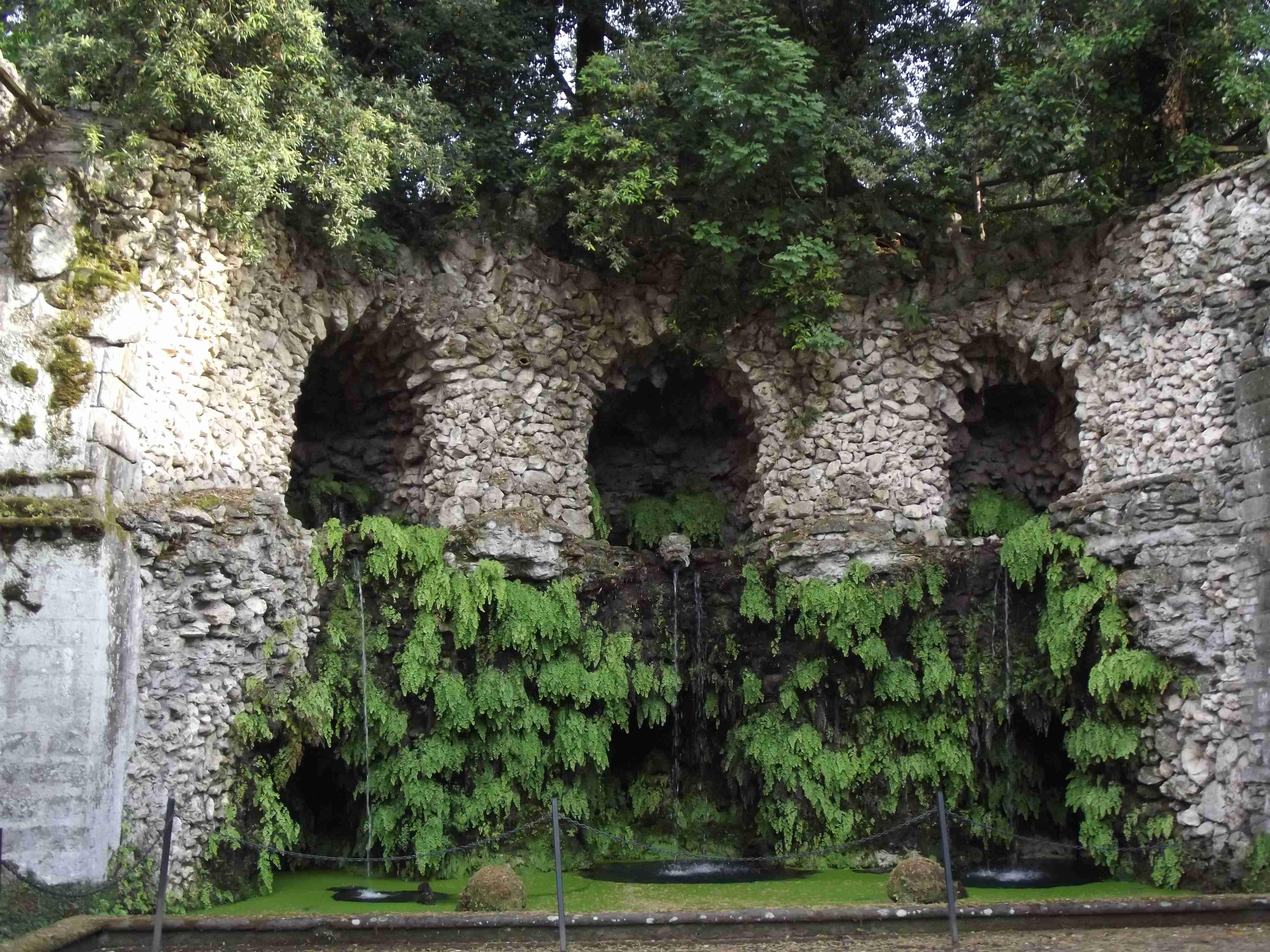 Bagnaia. Villa Lante 3