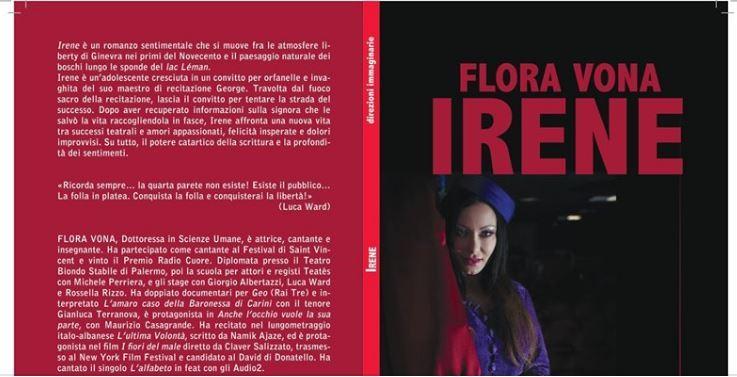 Flora Vona IRENE copertina 1