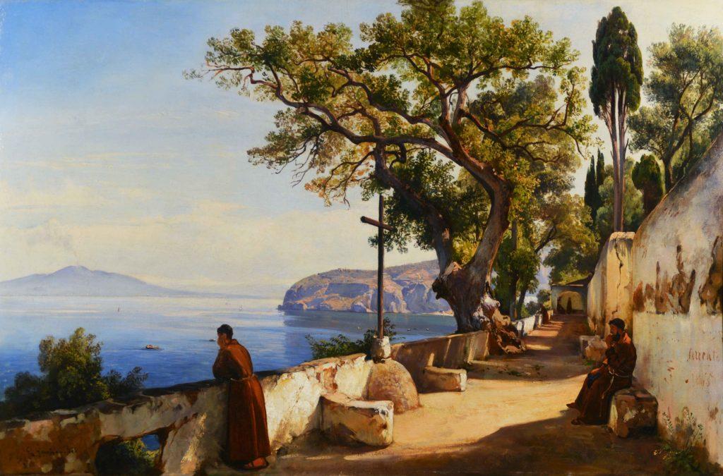 Giacinto Gigante Sorrento 1845 Pescara collezione Venceslao Di Persio 1024x675