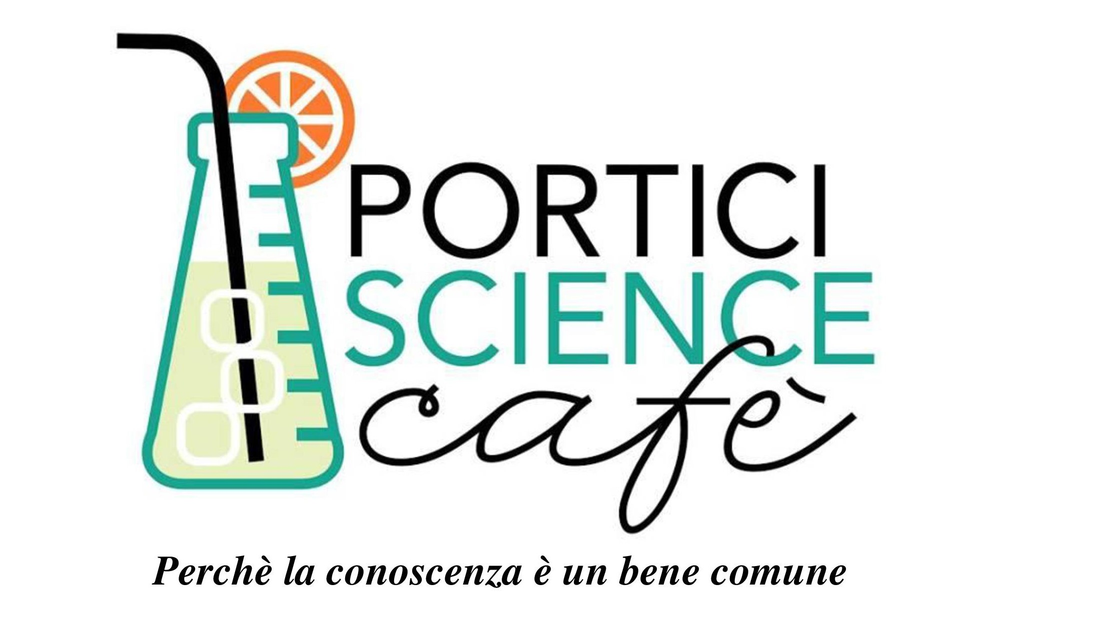 Portici Science Cafè Logo