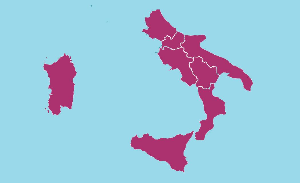 Mezzogiorno Sud Italia