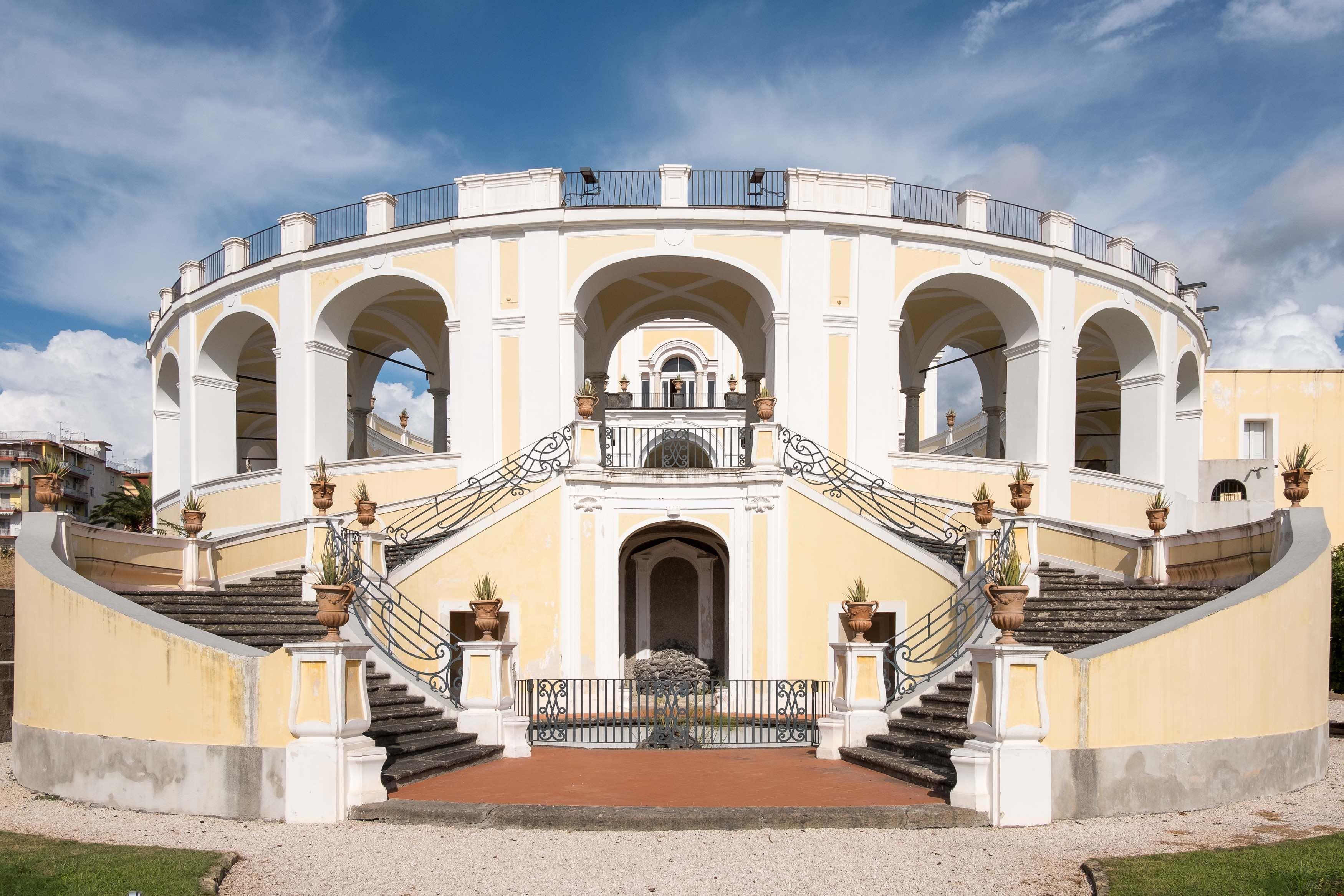 NAPOLI ERCOLANO Villa Campolieto