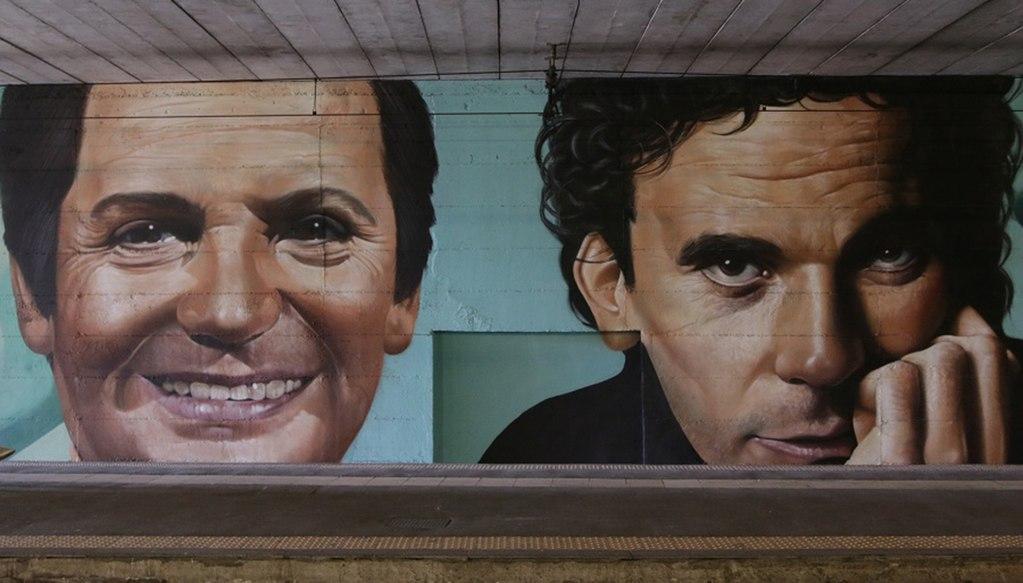 Noschese troisi Murale circumvesuviana