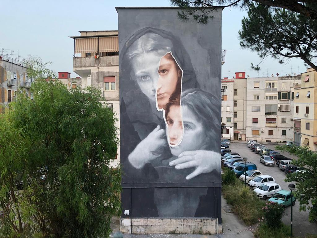 Opera street artista Gomez