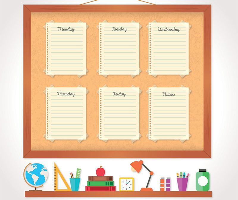 Organizzare il pomeriggio di studio 800x675