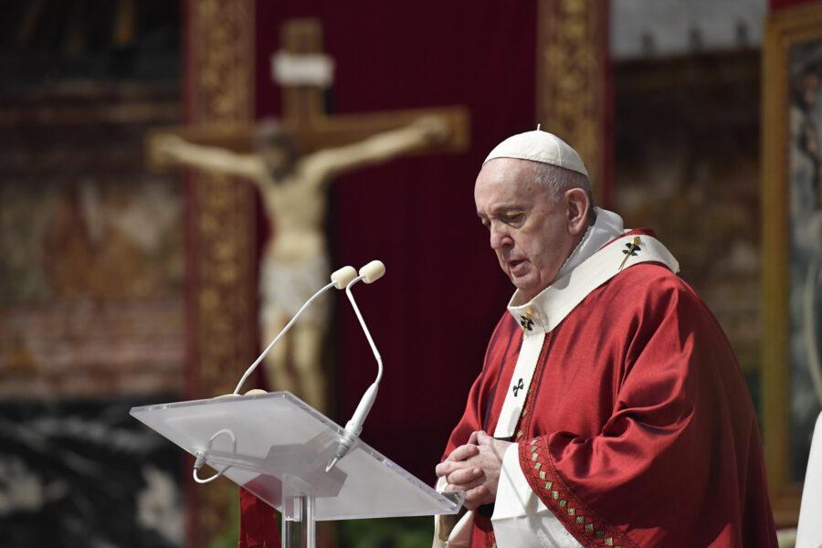 Papa Francesco a San Pietro Arrabiato 2 900x600