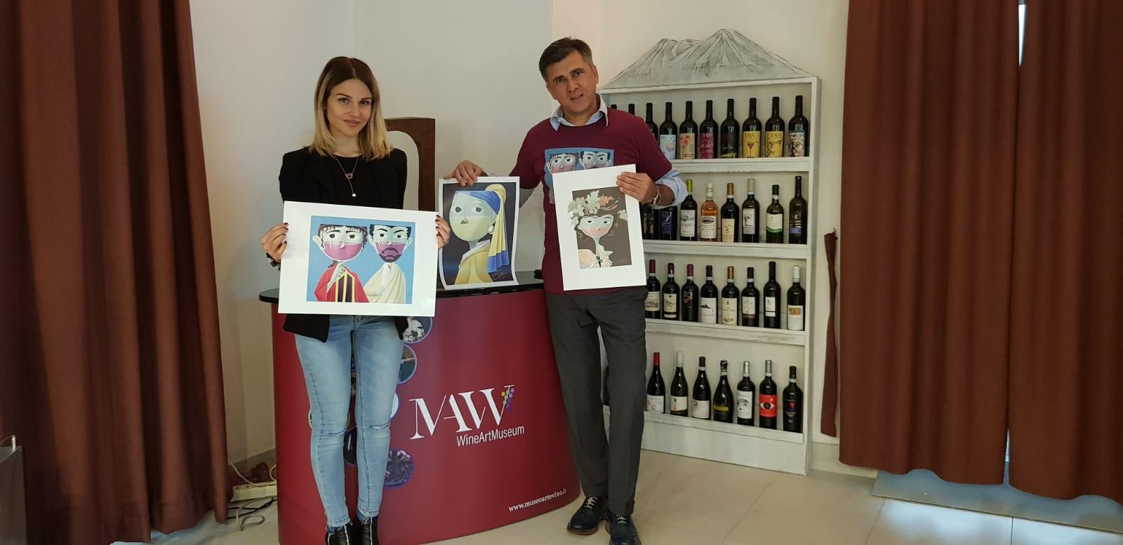 Petra Scognamiglio Eugenio Gervasio capolavori vino 2019