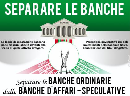 Separazione bancaria al Parlamento