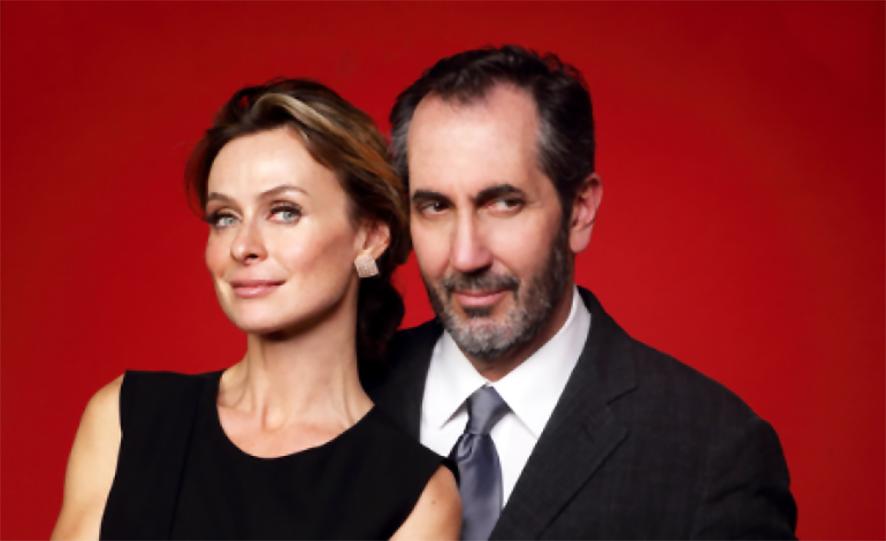 Serena Autieri e Paolo Calabresi