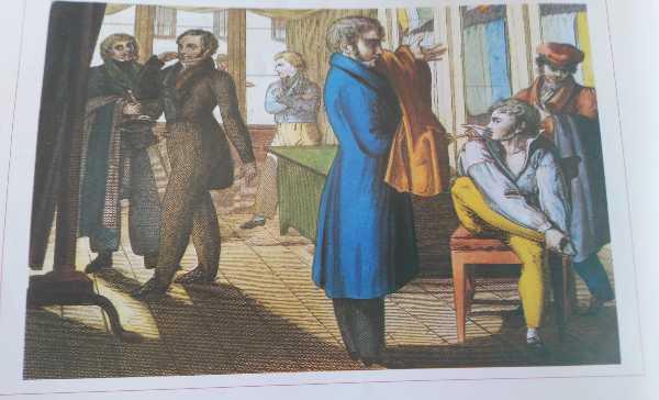 Vestiti moda 1800