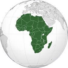africa mappamondo