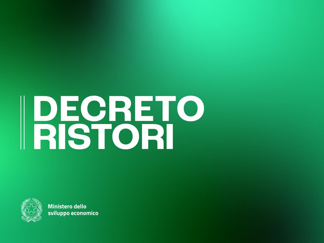 decretoristori new