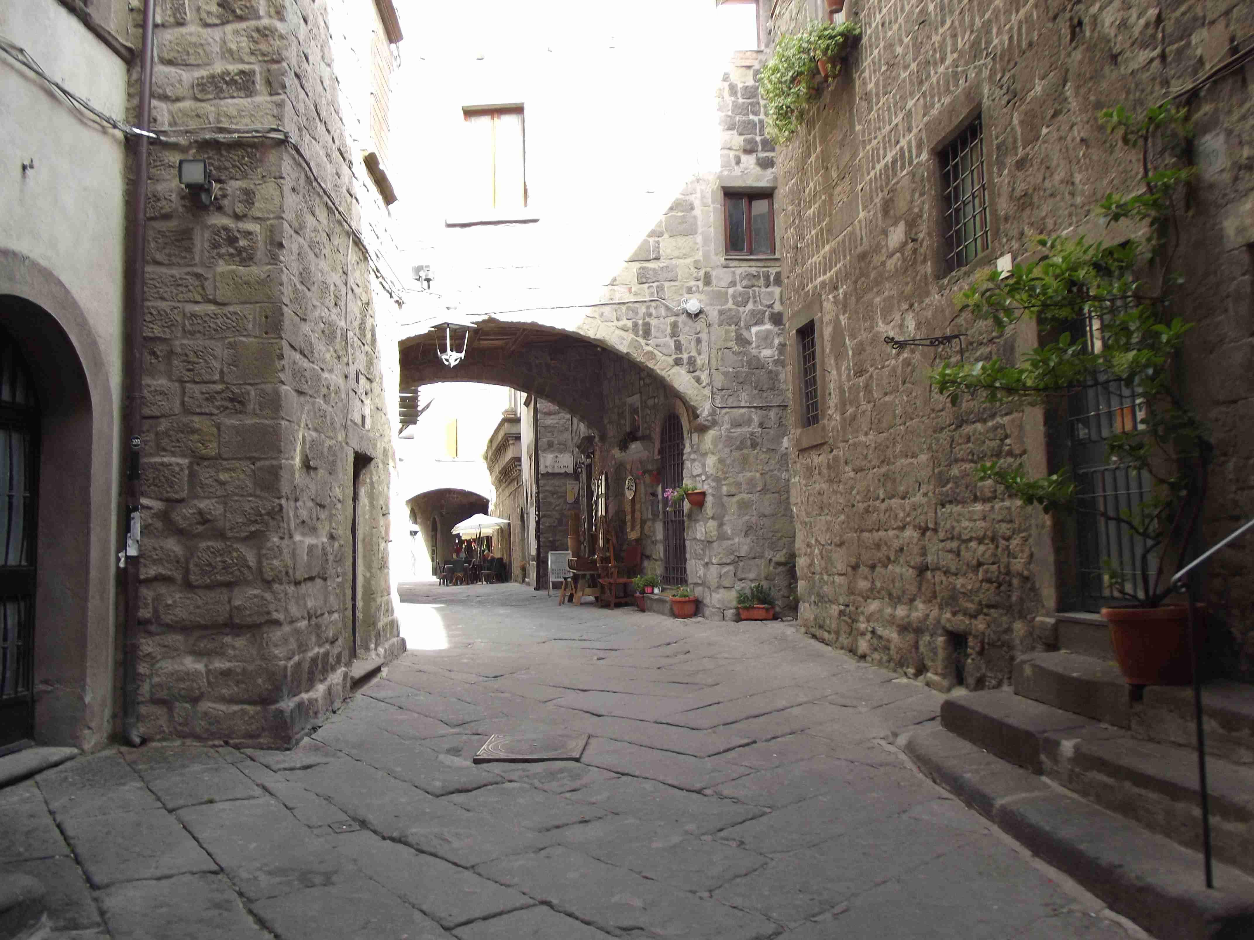 il centro storico di Viterbo 1