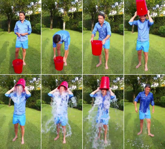 Renzi Ice Bucket Challenge