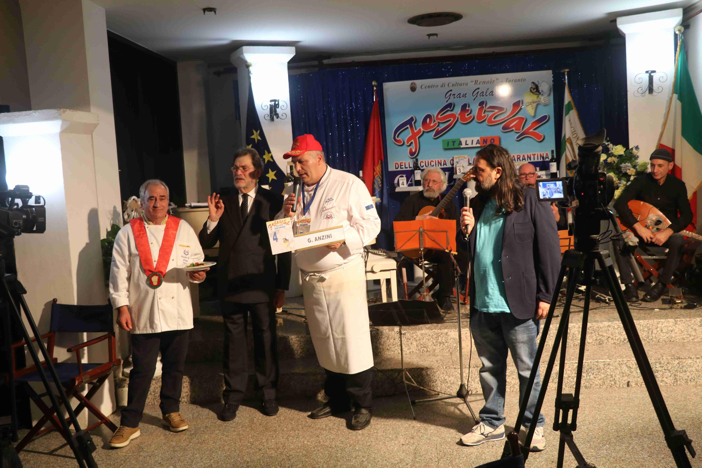 la premiazione di Gianfranco Anzini 2