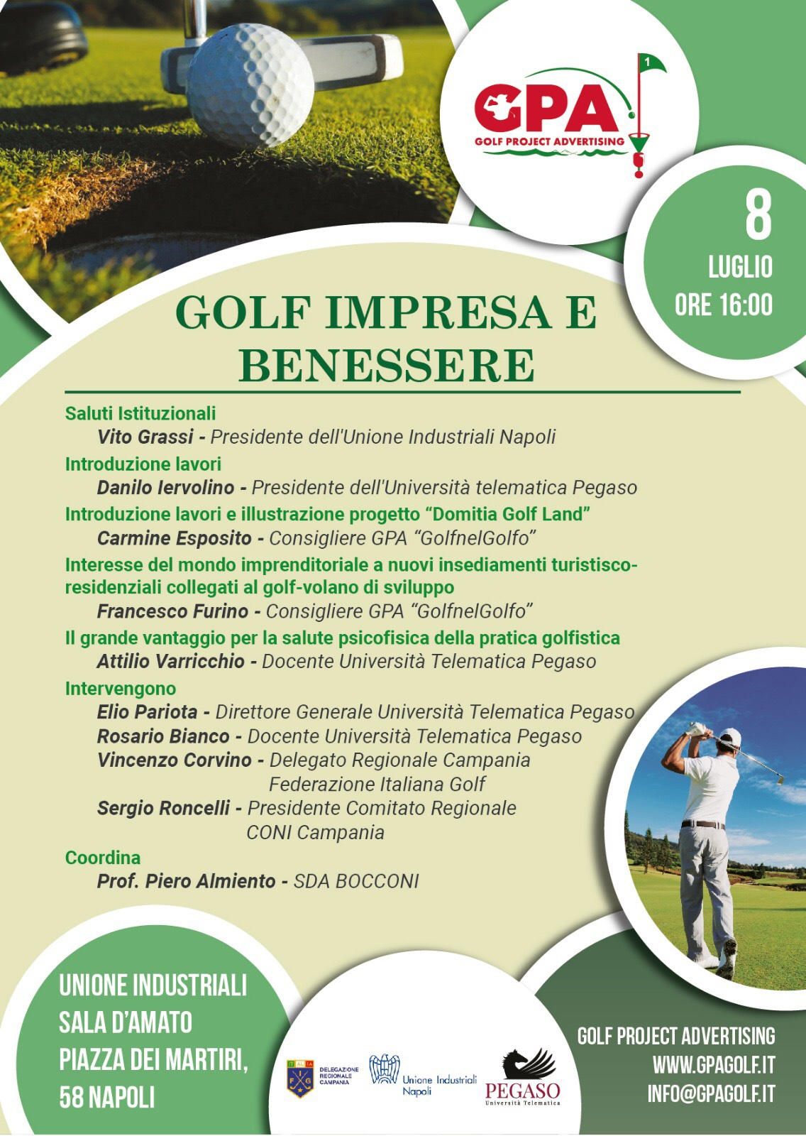 locandina golf